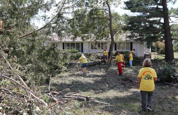 In Iowa, Hard-Hit Churches and Faith-Based Organizations Rally to Help Out in Wake of Derecho